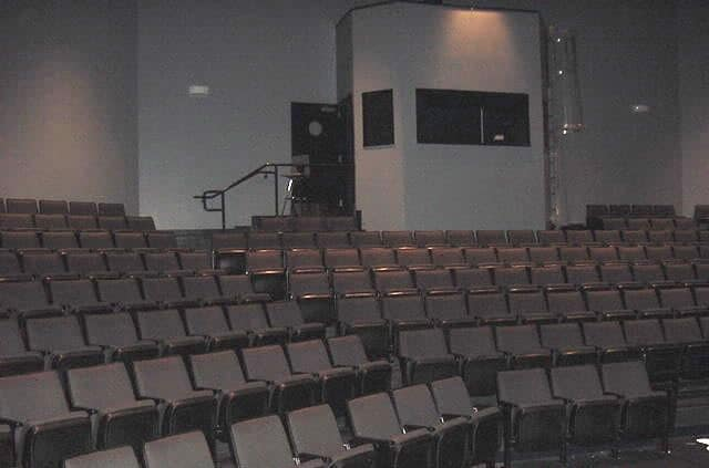 Johnson Burdine Theater stadium seating