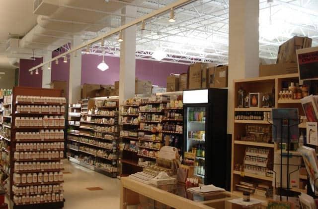 Wheatsville Co-op grocery isles