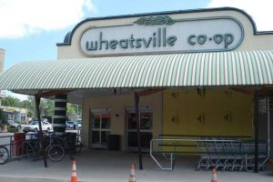 Wheatsville Co-op main sign