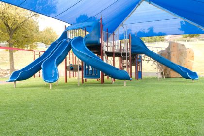 Playground & Shade Structure